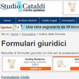 Studio Cataldi Formulari Giuridici
